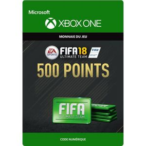 EXTENSION - CODE FIFA 18 Ultimate Team: 500 Points pour Xbox One