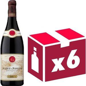 VIN ROUGE Saint Joseph vin rouge 6x75cl Guigal
