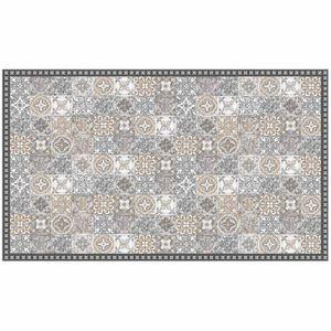 TAPIS Tapis rectangle 100 x 170 cm vinyle alicante Natur