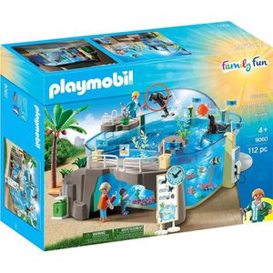 UNIVERS MINIATURE Playmobil 9060 - Family Fun - Aquarium Marin