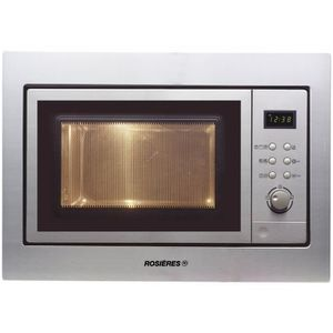 MICRO-ONDES ROSIERES RMG200M-Micro ondes grill inox-20 L-800 W