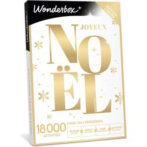 COFFRET THÉMATIQUE Wonderbox - Box cadeau pour noël - Joyeux noel sen