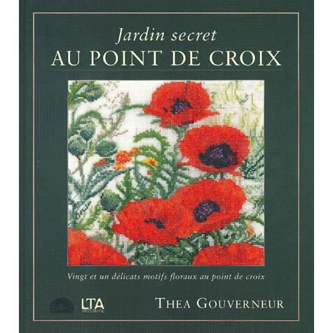 Jardin secret au point de croix achat vente livre le for Au jardin secret