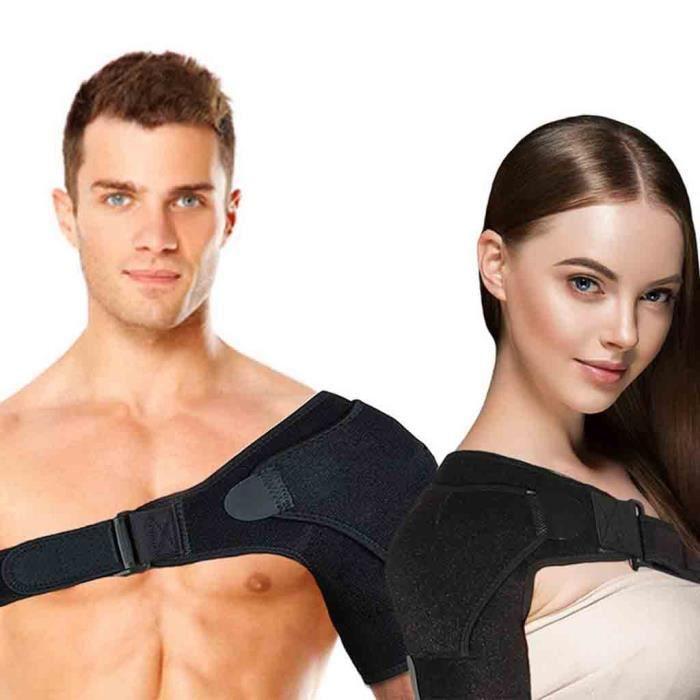 Attelle d'épaule manchette de rotateur soutien de soulagement de la douleur manchon de ceinture réglable hommes femmes PACK