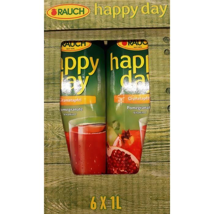 Rauch Happy Day Grenade jus de fruit 6 x 1l