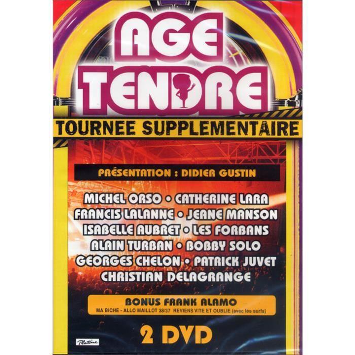 Double DVD Âge Tendre -La Tournée Supplémentaire-