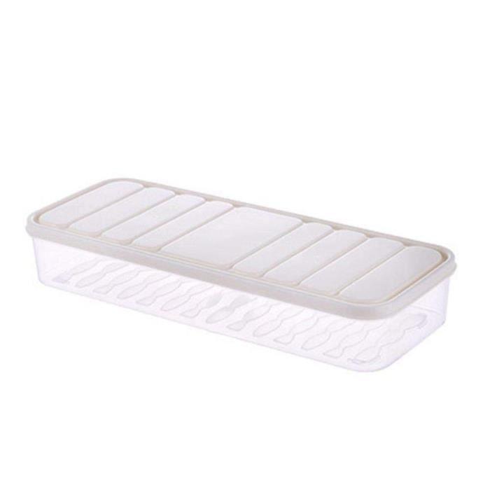 Bacs de rangement en plastique boîte de rangement pour réfrigérateur conteneurs de stockage de nourriture avec - Type S-#A1