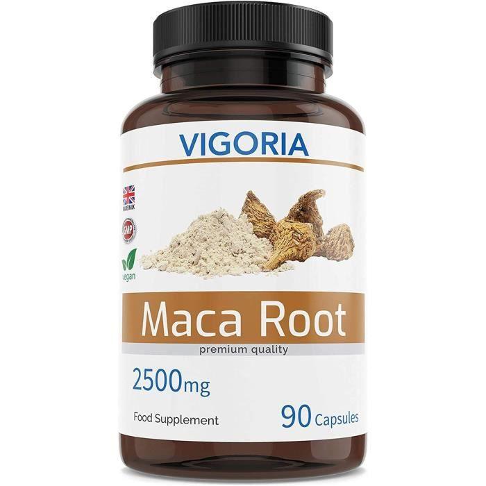 Maca Maca péruvienne pour la vitalité des hommes et des femmes – Contre la Fatigue – Extrait naturel 10:1 de poudre de r 331249