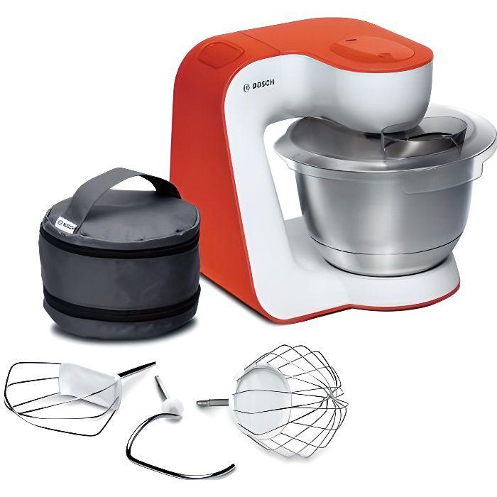 BOSCH MUM54I00 Robot pâtissier Kitchen Machine MUM 5 - Blanc et Orange