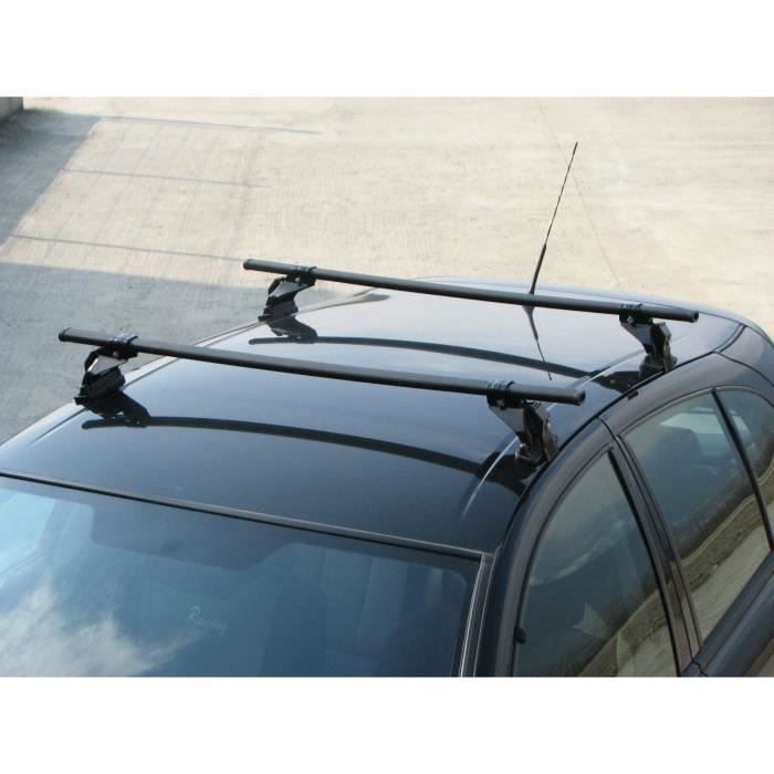 Barres de toit ALFA ROMEO 75 4 portes (85- 92) Fixation standard portière