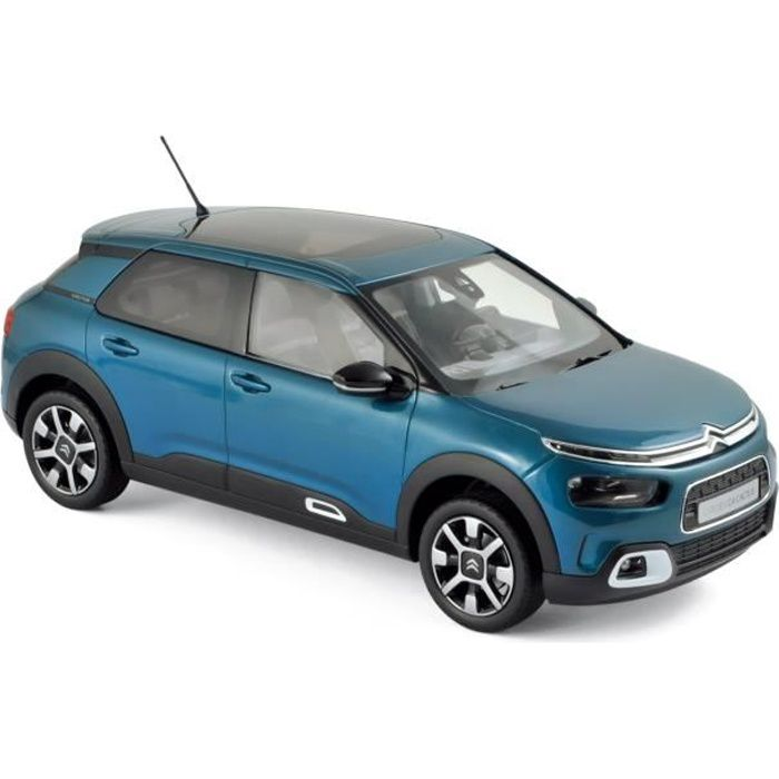 NOREV Citroën C4 Cactus 2018 - Bleu émeraude & Blanc déco