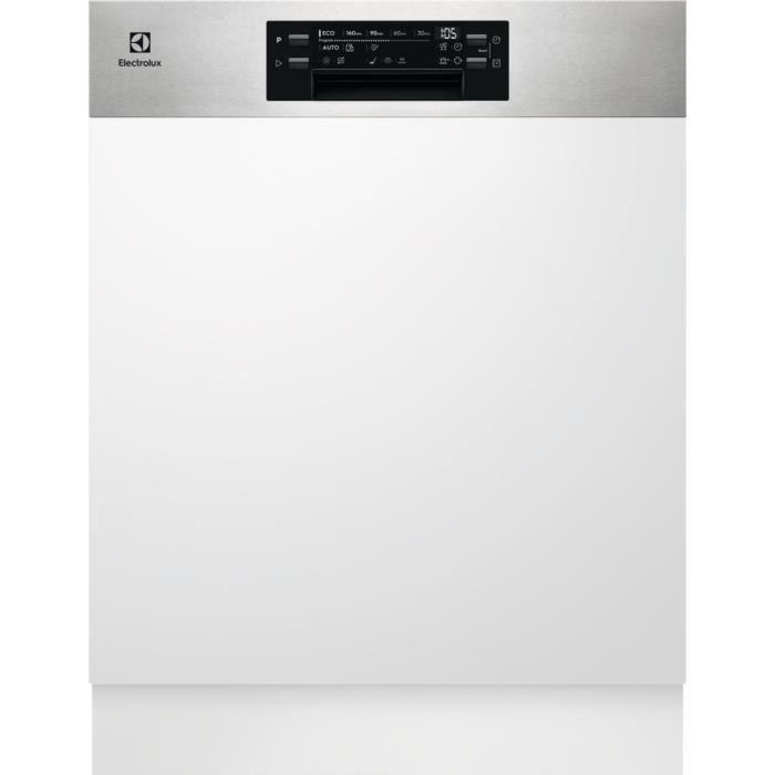 Lave-vaisselle encastrable ELECTROLUX EEM69300IX - 15 couverts - Induction - L60cm - 44dB