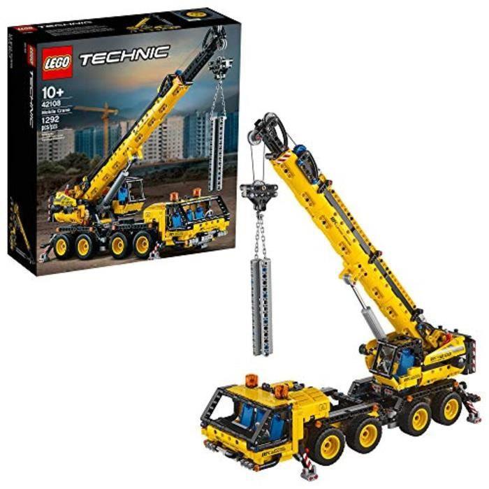 Jeu D'Assemblage LEGO Z9DW4 Kit de construction Technic Mobile Crane 4218