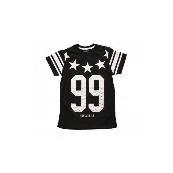 T-Shirt Deeluxe Stars Noir Couleur Noir