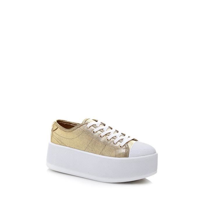 Guess Baskets Femme Boomer Or