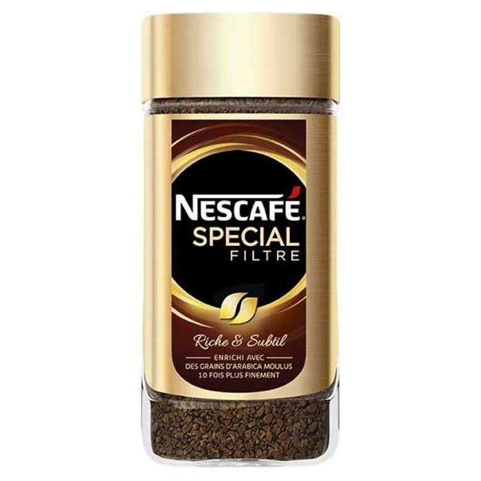 LOT DE 12 - NESCAFE : Spécial Filtre - Café soluble 200g