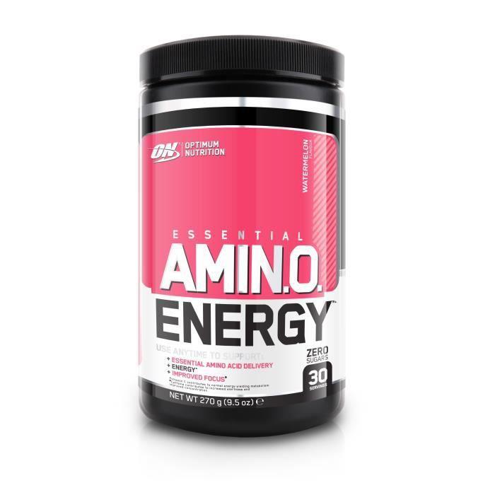 OPTIMUM NUTRITION Pot Amino Energy Pastèque - 270 gr