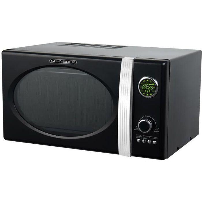 Schneider MW 823G B Grill Combi Micro-ondes Noir