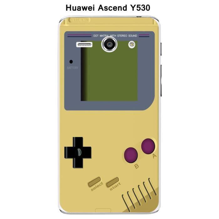 Coque Huawei Ascend Y530 Game Boy Custard