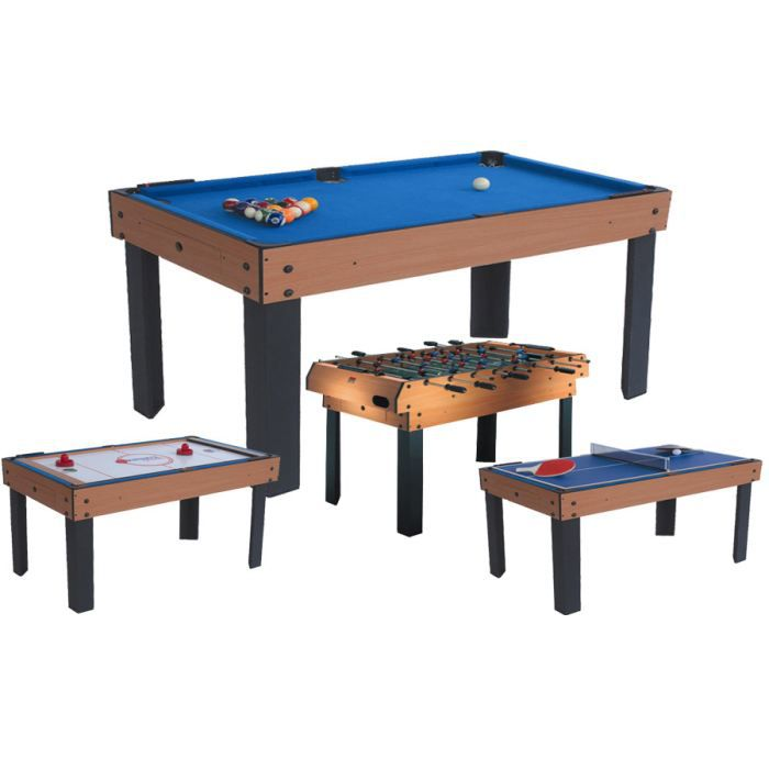 Table multi jeux achat vente table multi jeux billard baby air hockey ten - Table multi jeux enfant ...