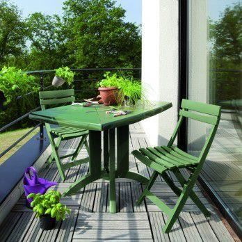 Table De Jardin Vega. Excellent Salon De Jardin Table Vega Fuchsia ...