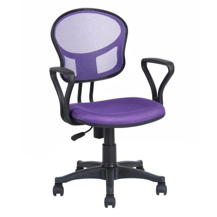 CHAISE DE BUREAU Homy Casa Chaise de bureau Fabric Fauteuil de bure