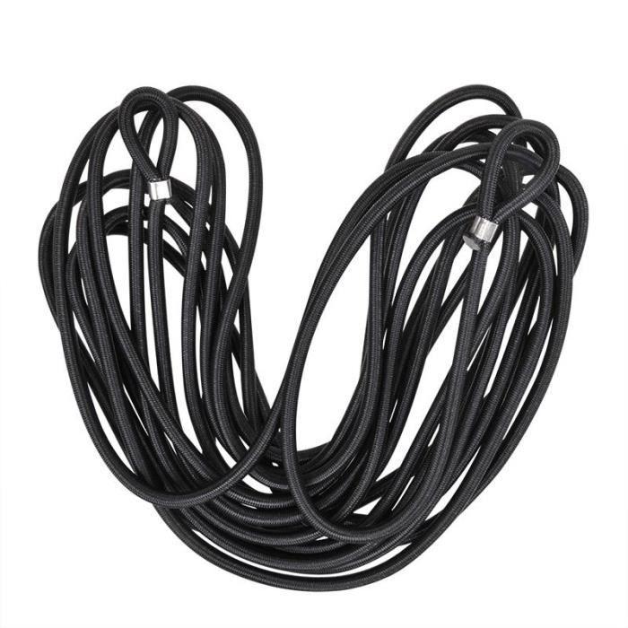 Câble de remorquage voiture 2000 kg poids total de sécurité câble de remorquage 1,5-4m Flexible