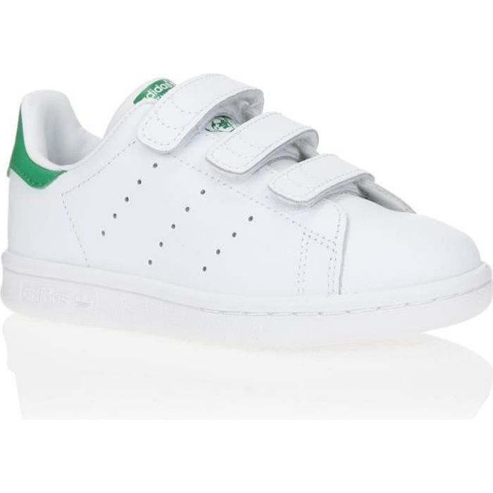 ADIDAS ORIGINALS Baskets Stan Smith - Enfant garçon - Blanc