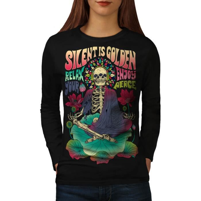 T-SHIRT Women XXL T-shirt à manches longues | Wellcoda