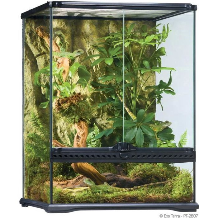 terrarium exo terra achat vente terrarium exo terra pas cher cdiscount. Black Bedroom Furniture Sets. Home Design Ideas