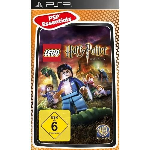 JEU PSP LEGO HARRY POTTER - DIE JAHRE 5-7 - ESSENTIALS …