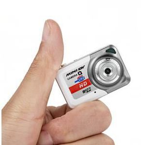 APPAREIL PHOTO RÉFLEX Camera espion HD enregistrement MINIDV x6