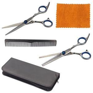 CISEAUX - EFFILEUR 16,5cm Professional Barber Ciseaux de coiffure de