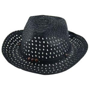 SET DE SOIN ouniondo® Été bébé cowboy chapeaux de paille pour