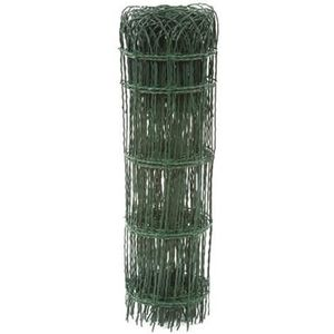 Bordure parisienne grillage plastifi/é vert 0,65 10