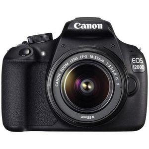 APPAREIL PHOTO HYBRIDE CANON 1200D - APPAREIL PHOTO NUMÉRIQUE + OBJECT…