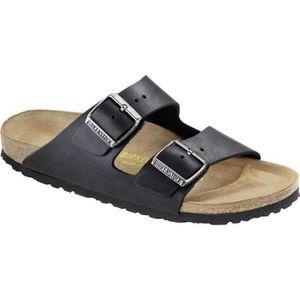 SANDALE - NU-PIEDS Birkenstock Arizona Oiled Leather Womens Sandals