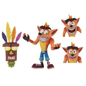 FIGURINE - PERSONNAGE Crash Bandicoot figurine Ultra Deluxe Crash with A
