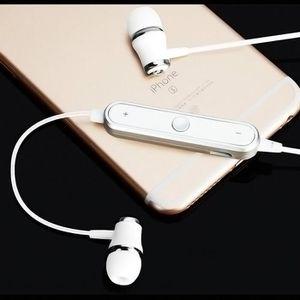 KIT BLUETOOTH TÉLÉPHONE Ecouteurs Bluetooth Anneau pour LG K8 4G Smartphon