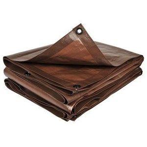 BACHE Bâche de protection marron 2 m x 3 m