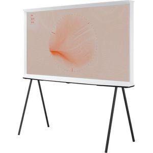 Téléviseur LED TV QLED Samsung The Serif QE43LS01 Blanc