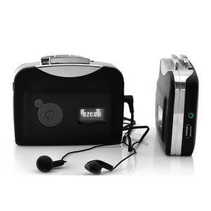 BALADEUR CD - CASSETTE Lecteur cassette et convertisseur MP3 autonome