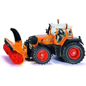 VOITURE - CAMION Modèle réduit en métal : Tracteur avec fraiseuse à