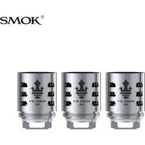 CIGARETTE ÉLECTRONIQUE Résistances TFV12 Prince Smok (X3) Q4 0.4 ohm