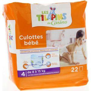 COUCHE LES TILAPINS Culottes bébé Taille 4 - 8 à 15kg - 2