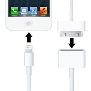 CÂBLE TÉLÉPHONE Adaptateur pour iPhone 6 et 6s Plus 5 et 5C et 5S