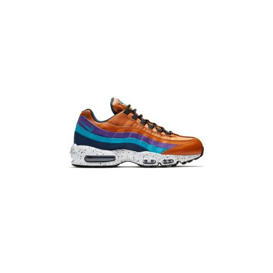 Basket Nike Air Max 95 Premium - 538416-800 - AGE - ADULTE, COULEUR - ORANGE, GENRE - HOMME, TAILLE - 46 Orange Orange - Achat / Vente basket