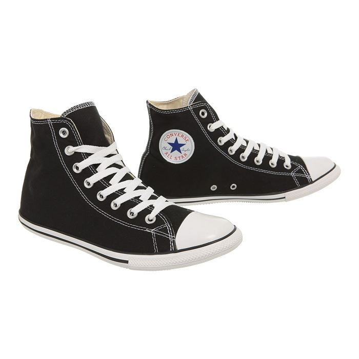 CONVERSE Baskets All Star Hi Slim Homme Noir - Achat / Vente ...