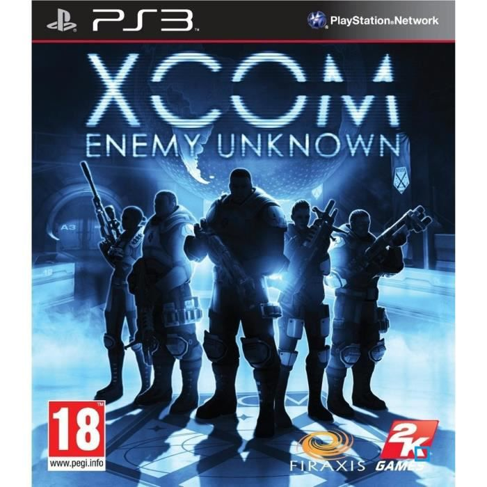 JEU PS3 XCOM : ENEMY UNKNOWN / Jeu console PS3