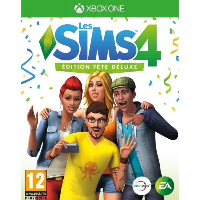 Sims 4 Edition Fête Deluxe Jeu Xbox One